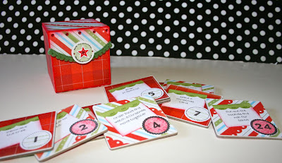 Karen Pedersen Christmas Advent Calendar Box And A