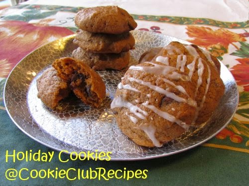 Yummy Pumpkin Chocolate Chip Cookies at CookieClubRecipes!