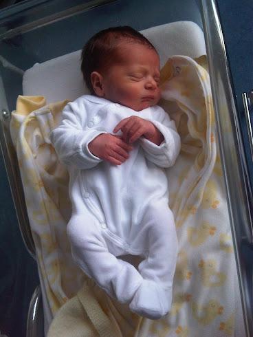 Mon petit fils Samuel