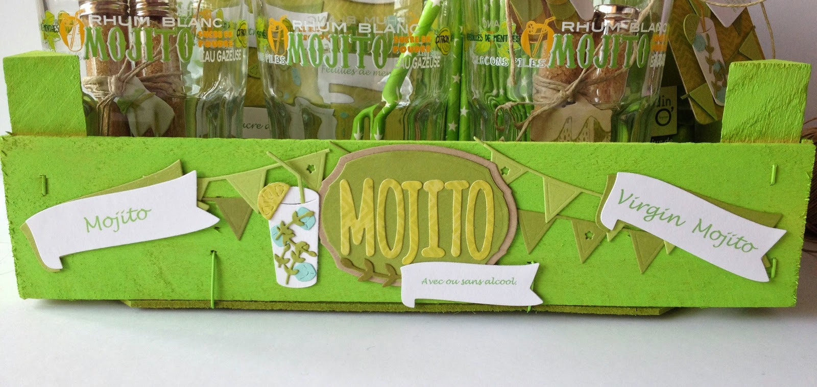 Populaire Feebellescrap: Inspiration 4enscrap/ensemble cadeau Mojito! PR81