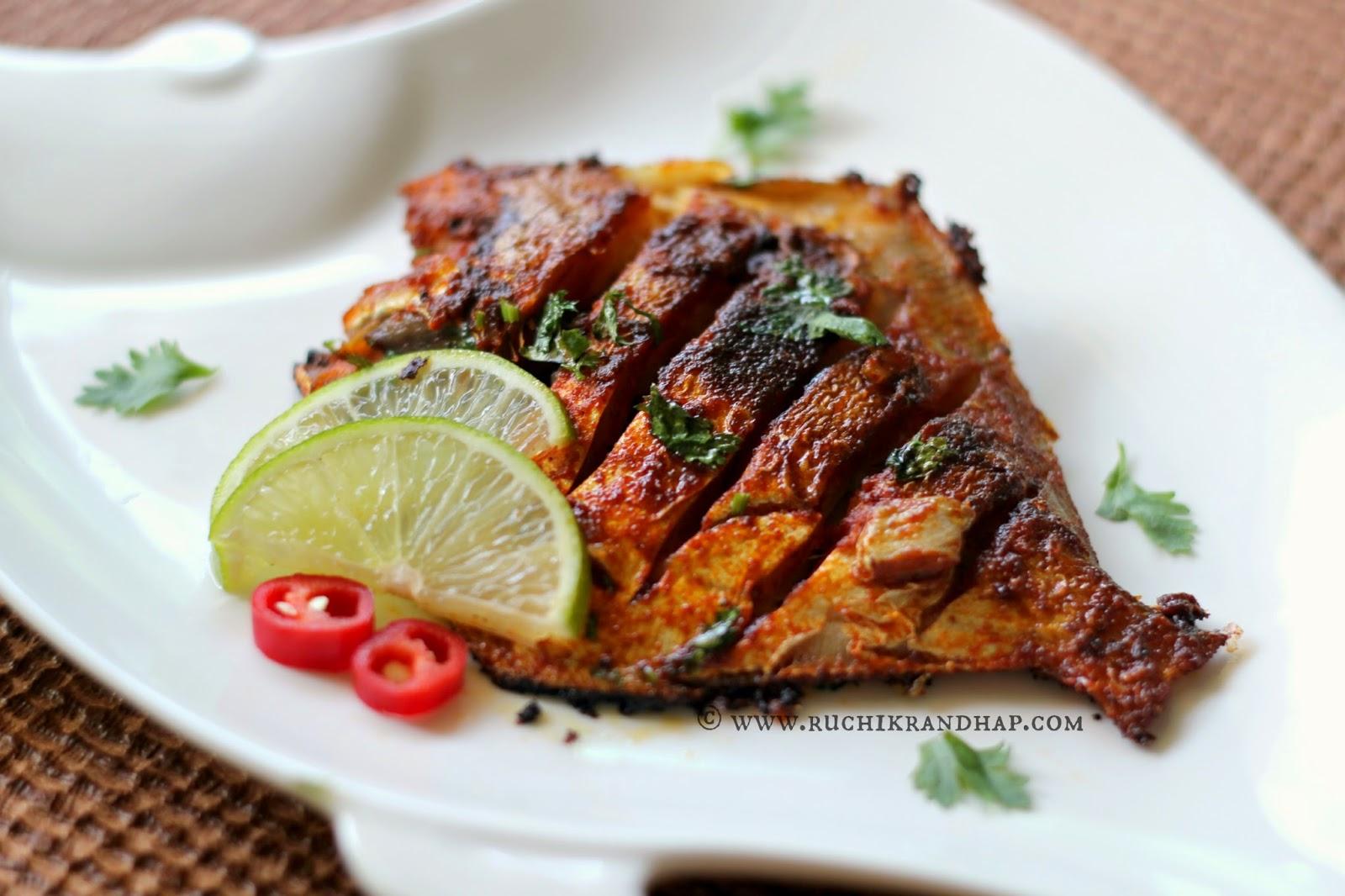 ... (Delicious Cooking): Bazelli Masli ~ Fried Fish (Basic Marination