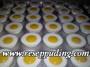 Resep Puding Telur Ceplok, Cara Membuat Puding, Aneka Resep Puding, Resep Aneka Puding, Resep Puding Sederhana