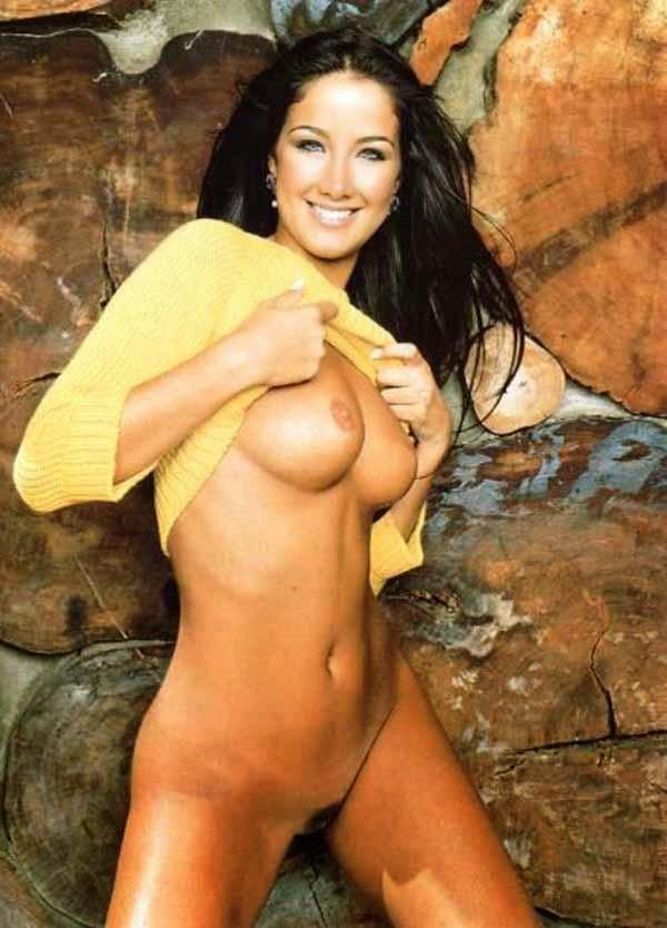 Helen Ganzarolli Nua Na Revista Playboy