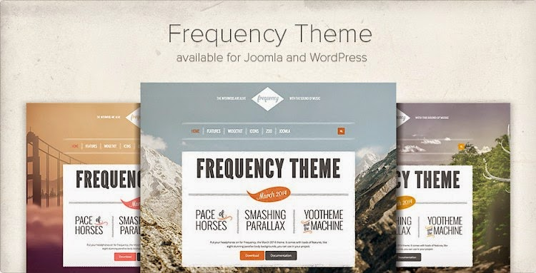 Download Frequency – YooTheme Joomla 2.5 & 3.2 Template | Download ...
