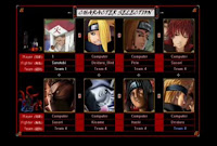 naruto the setting dawn 2 4 full character game naruto kali ini