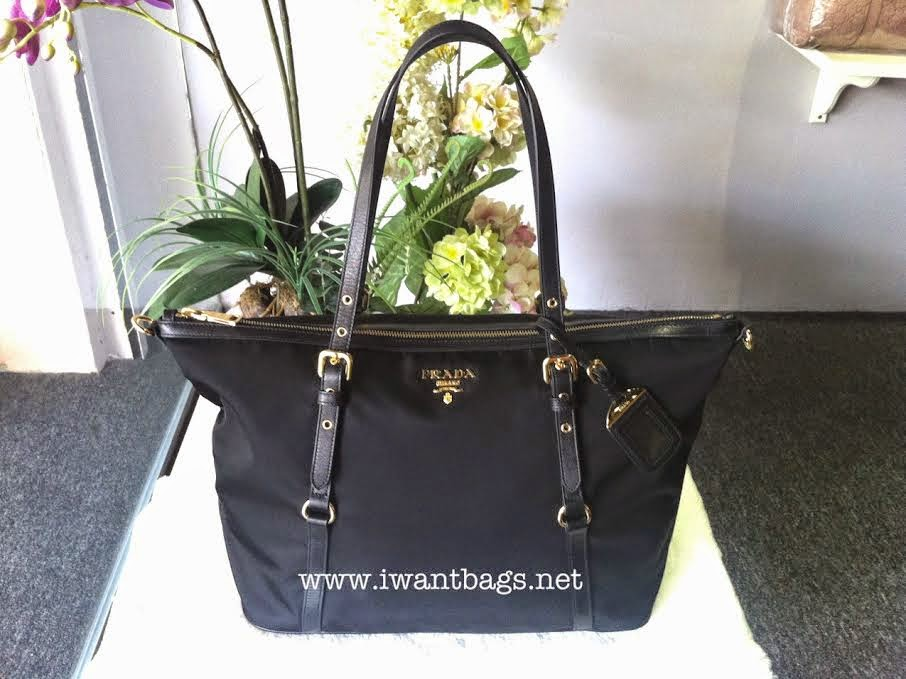 prada nylon tote handbag - I Want Bags | 100% Authentic Coach Designer Handbags and much more!