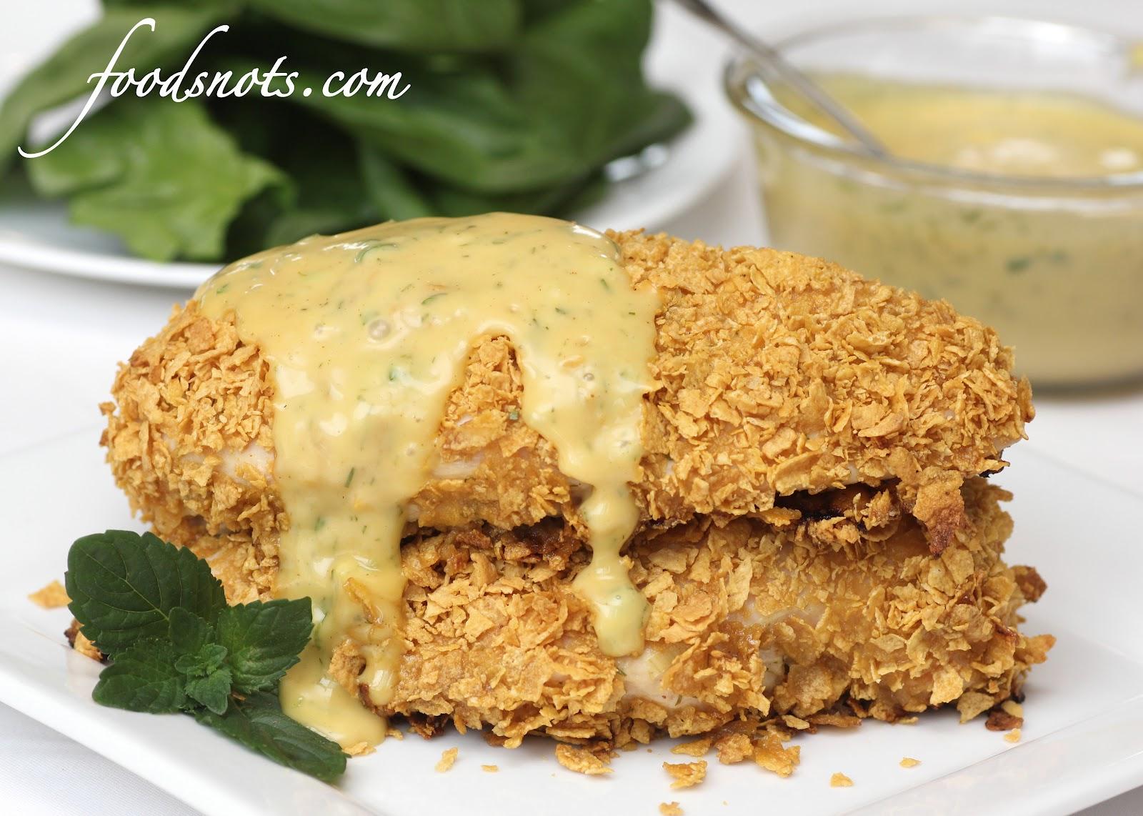 Recipe Snobs: Crusted Honey Mustard Chicken