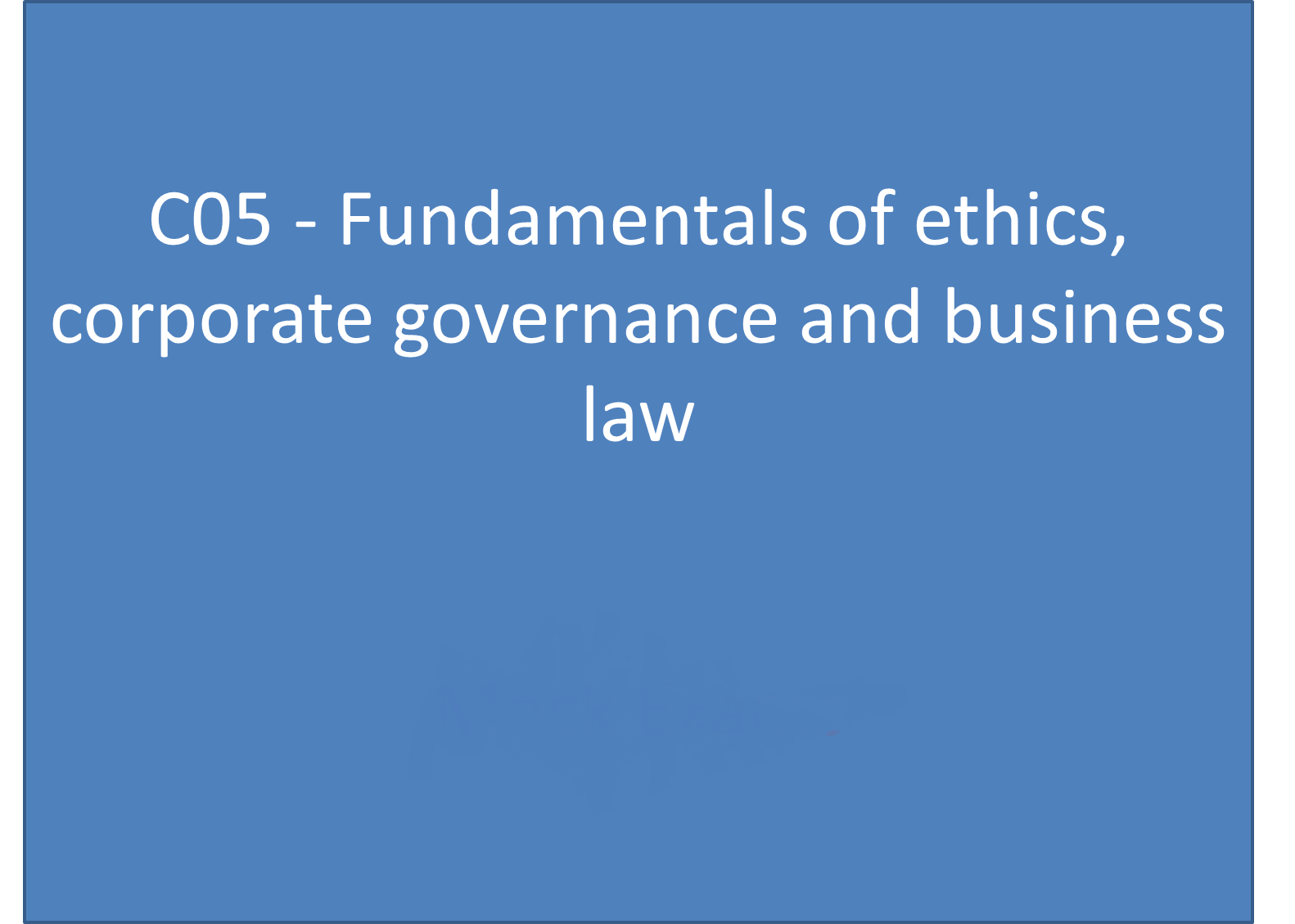 case study business ethics corporate governance Corporate governance values & ethics with case studies   covers the concepts of corporate governance and business ethics in lucid and student friendly manner .