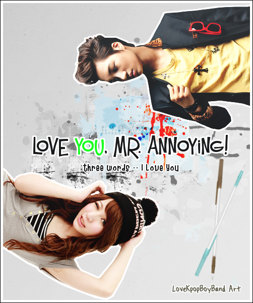 Love You, Mr. Annoying! - romcom you exo exok exom kai - main story image