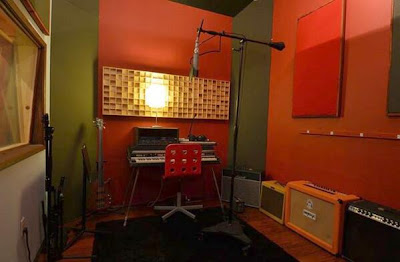"The ""Orange Room"" at the Bedrock Studios - Greyson Chance"