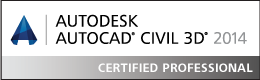 AutoCAD Civil 3D Certified Professional