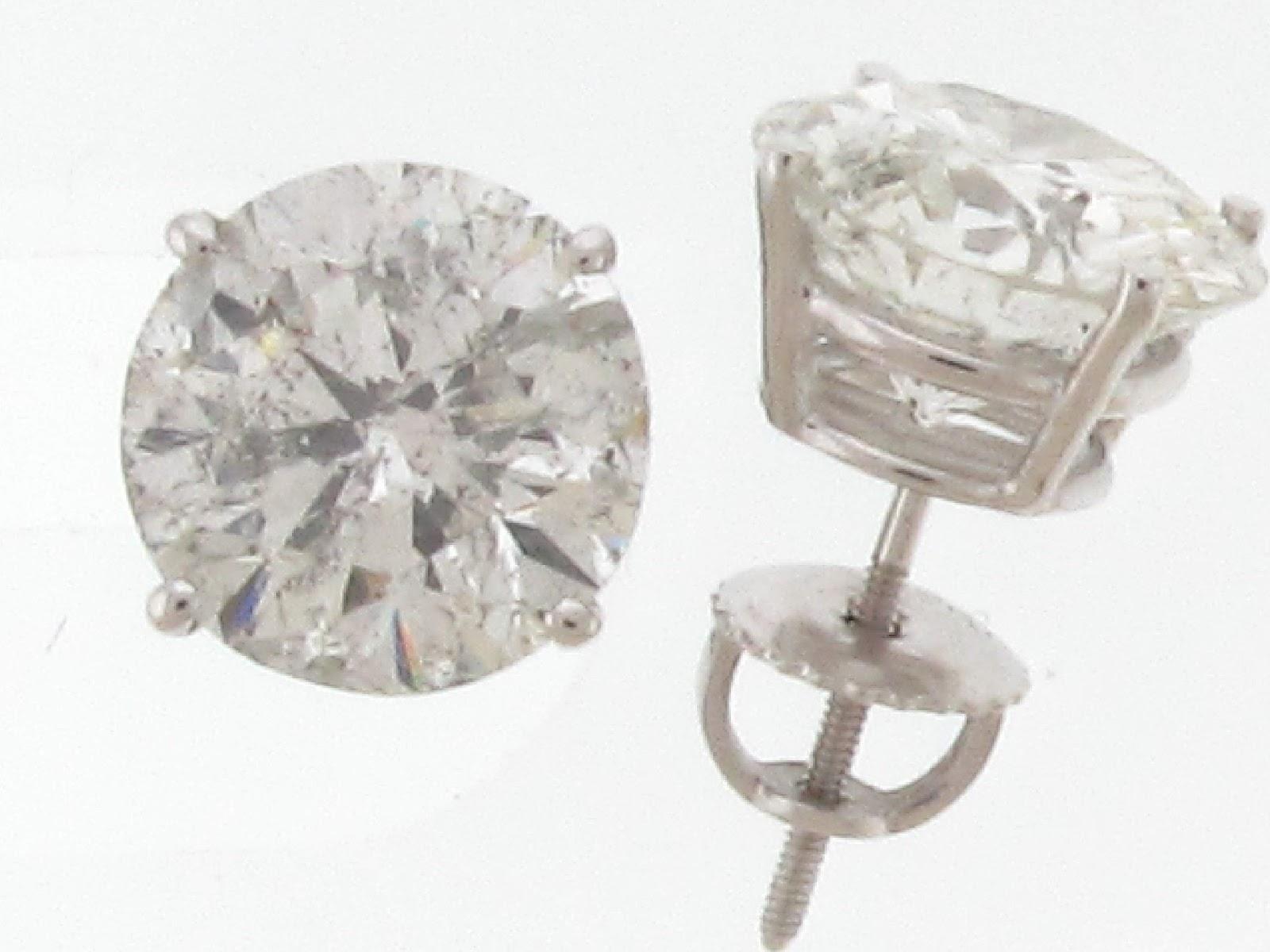 Diamond Stud Earrings Mens Topearrings