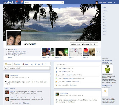 say hello to facebook timeline aka the story of your life