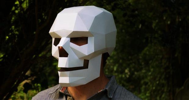 Geometric Skull Mask