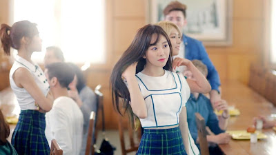 AoA Mina in Heart Attack MV