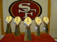49ers Superbowl trophée