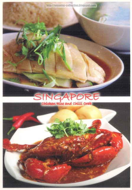 Chicken Rice & Chili Crab