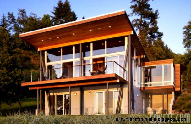 Gambar Desain Rumah Kayu Minimalis