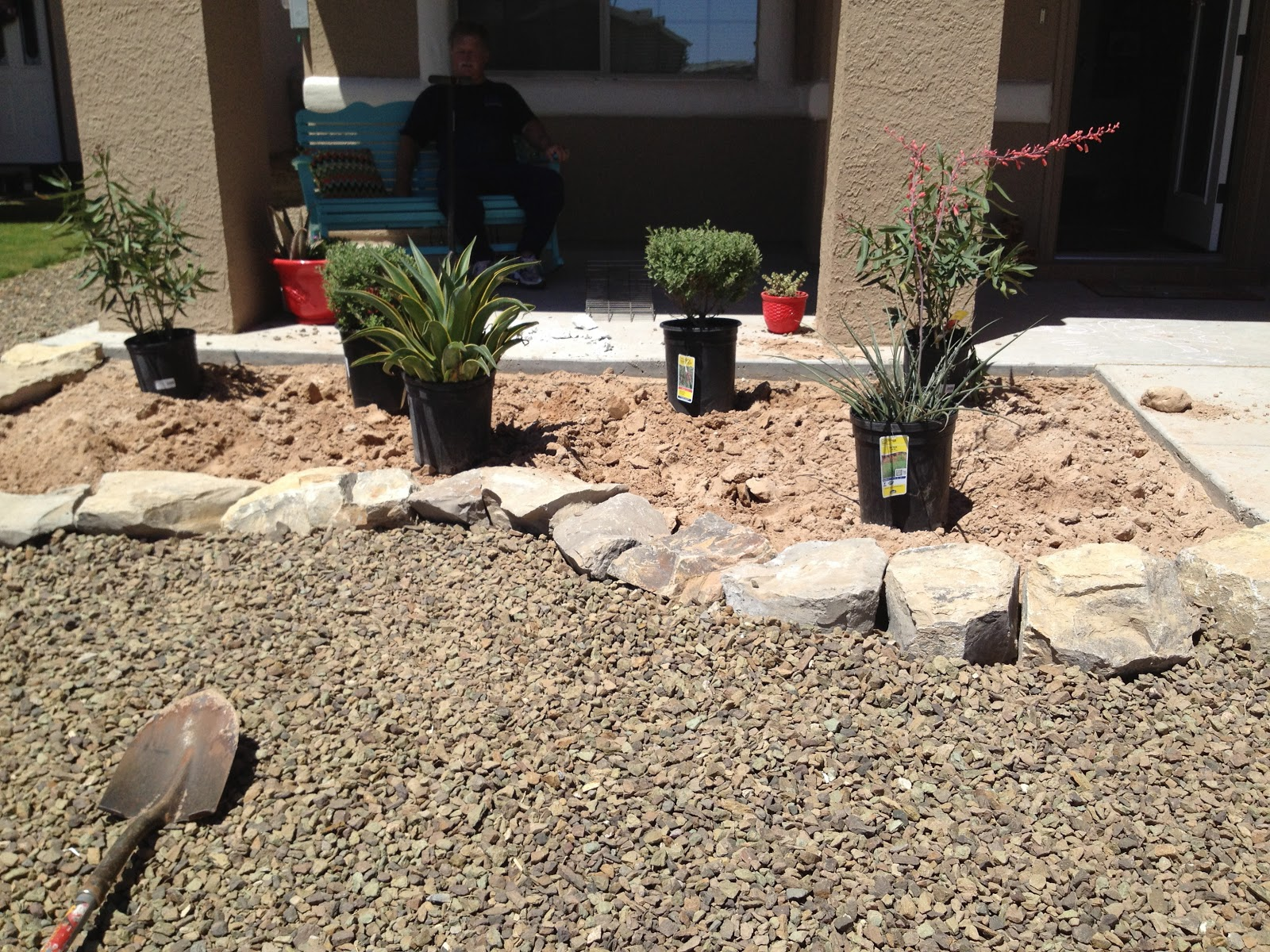 Sandpapered Bliss Front Yard Makeover