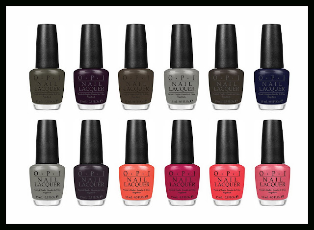 opi fall 2011 touring america collection