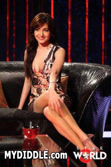 Anushka Sharma Koffee with Karan Pic - Anushka Sharma at Koffee with Karan Pics