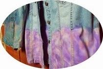 Kolorowa kamizelka ombre
