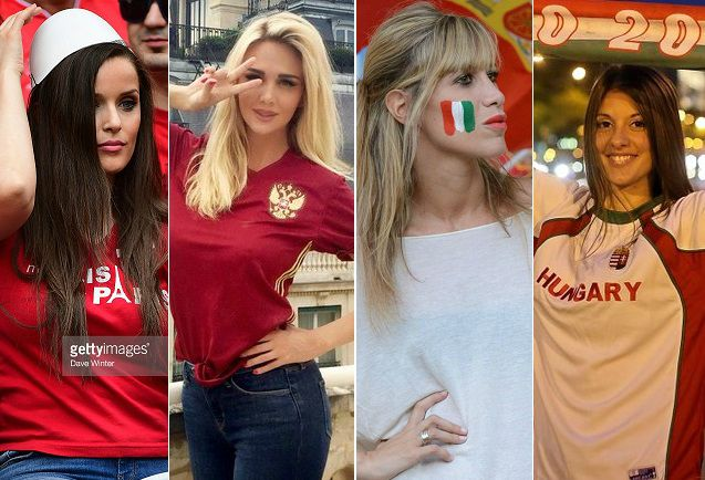 Hottest Euro 2016 female fans