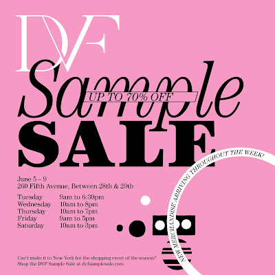 DVF Online Sample Sale