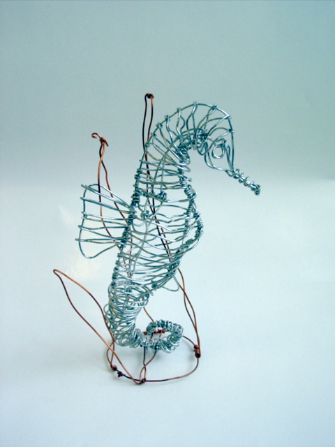 Art Confidence Wire Sculptures