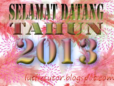 walpaper tahun 2013