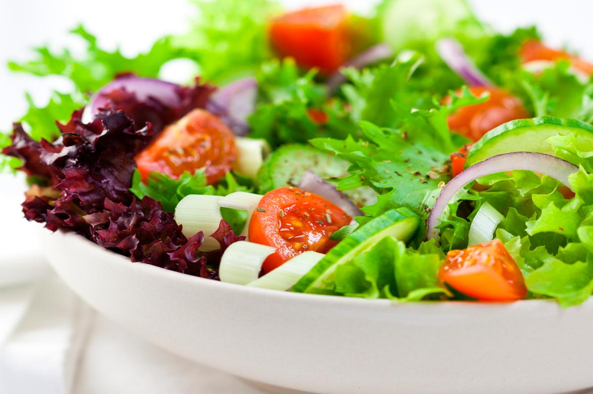 você come camarão?... ++ Salada