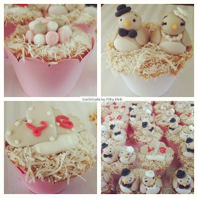 cups noivado2 Noivado dos passarinhos + Cupcakes de tapioca!