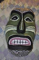 Paper Mache Face Mask
