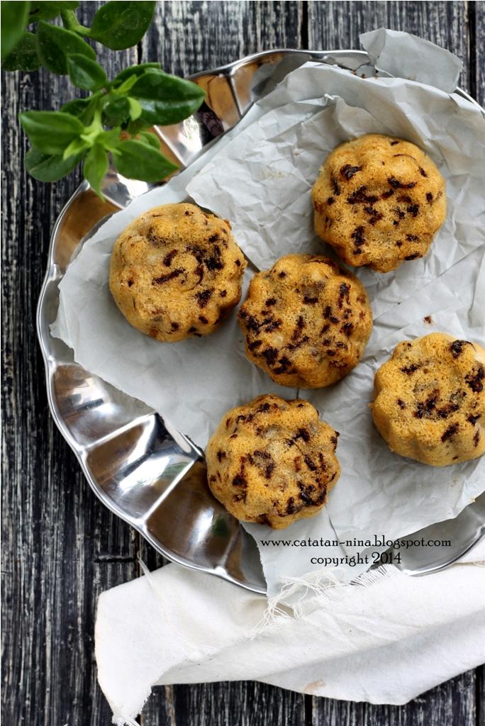 CAKE KUKUS PISANG BERBINTIK - Catatan-Nina | Aneka Resep