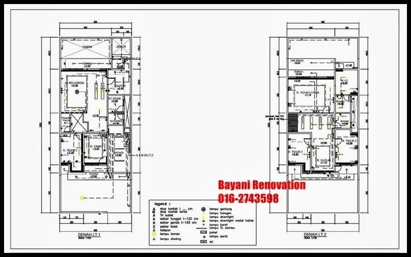 ... : Pelan rumah 2 tingkat semi d contoh pelan rumah semi d 2 tingkat