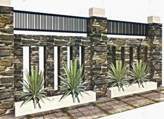 contoh pagar depan rumah minimalis images rumah minimalis