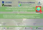 1º CONGRESO DE INTERCAMBIO CULTURAL DOCENTE DE EDUCACIÓN AMBIENTAL