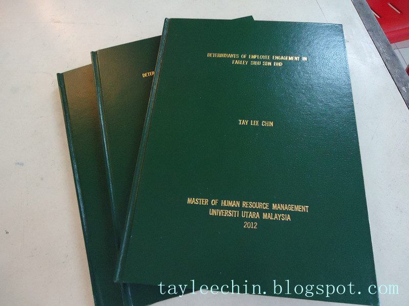 Dissertation Printing