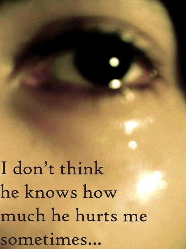 You Said You Wou...U Hurt Me Quotes Images