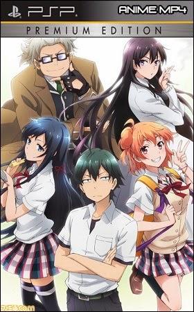 Yahari+ore+no+Seishun+Love+Come+wa+Machigatteiru - Yahari Ore no Seishun Love Come wa Machigatteiru + OVA [MEGA] [PSP] - Anime Ligero [Descargas]