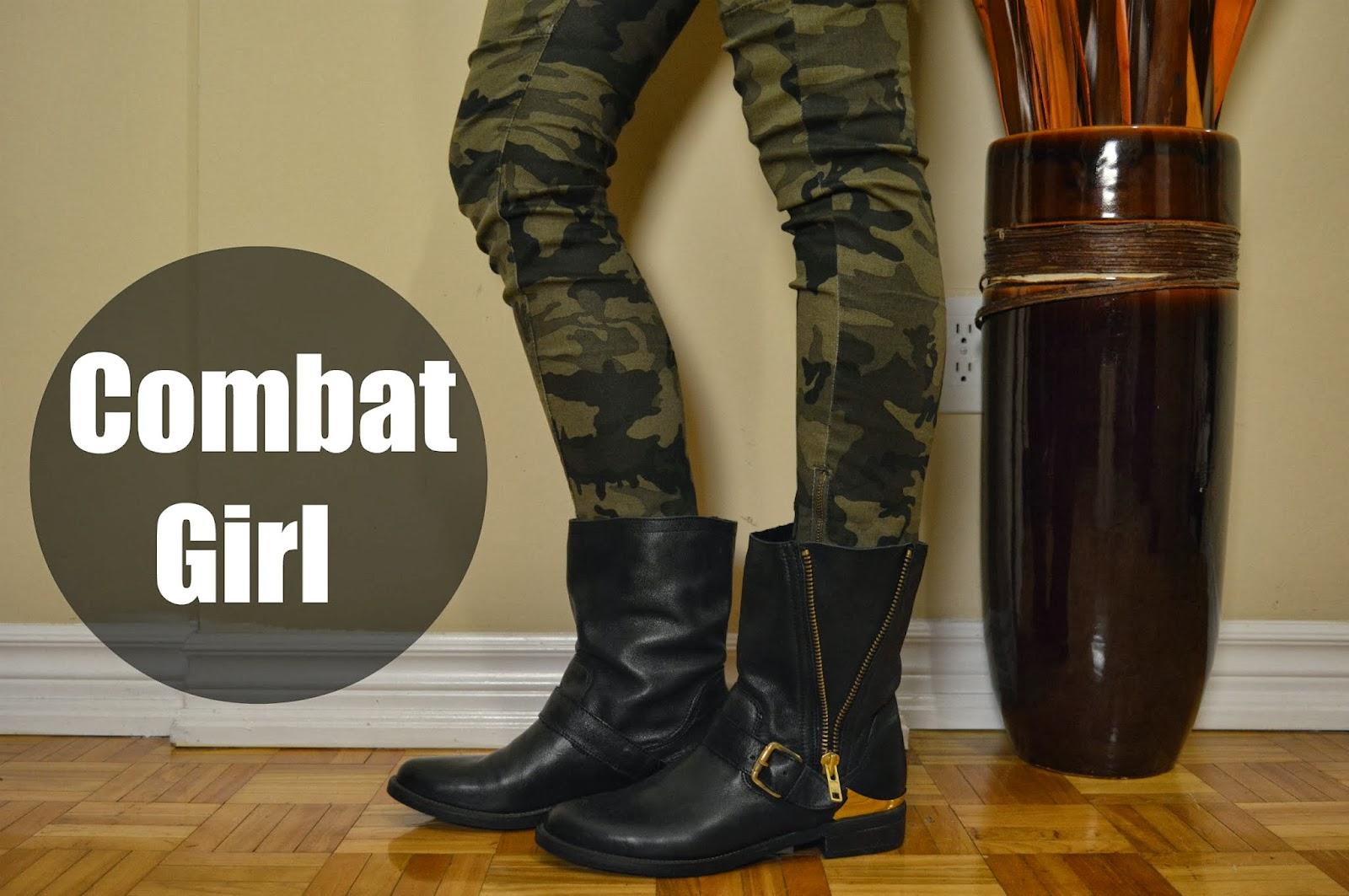 DIY Combat Girl Halloween Costume & DIY Combat Girl Halloween Costume - Life with A.Co by Amanda L. Conquer