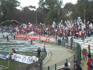 MATadores y Siempre Paloma, ultras Atlético Tetuán