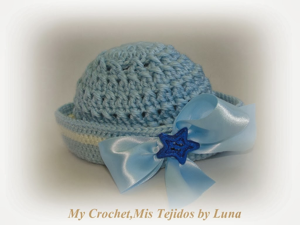 Crochet Pattern Sailor Hat : Sailor Newborn Hats and pattern
