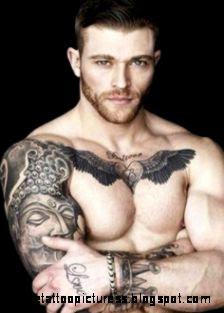 Man Tattoo on Pinterest  Tattoo Ink and Billy Huxley