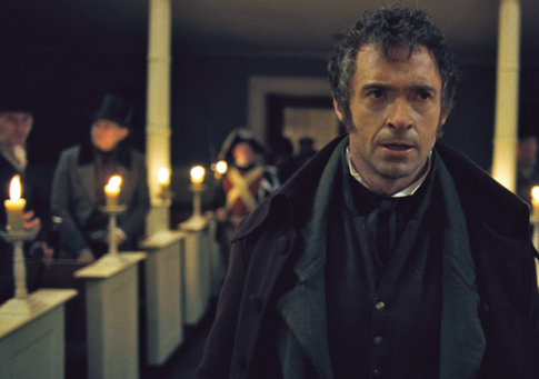 Hugh Jackman as Valjean Les Misérables (2012) movieloversreviews.blogspot.com