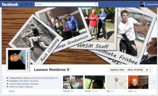 facebook timeline creative profile 2