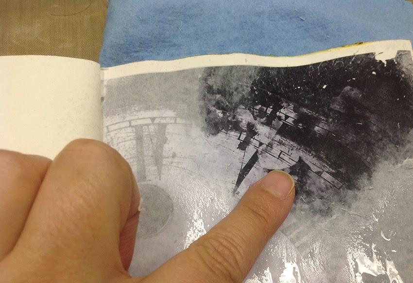 Club de art journal de qu bec art journal 101 le - Enlever de la glue sur les doigts ...