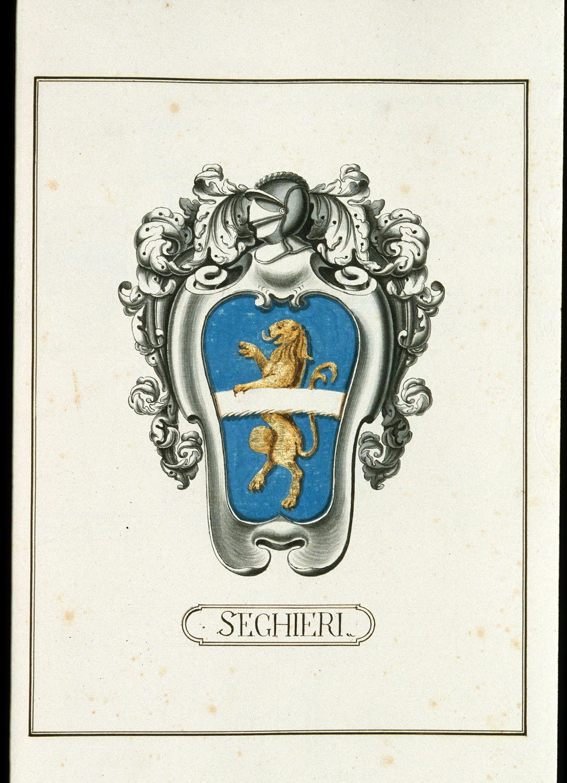 how to find italian family crest