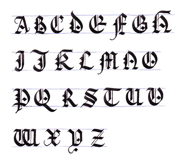 letras goticas abecedario the gallery for gt letras goticas m