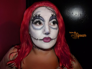 ... nightmare before christmas face paint sally from nightmare before
